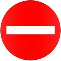 Biển cấm đi ngược chiều - Biển báo giao thông số 102