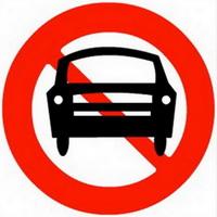 Biển cấm ô tô - Biển báo cấm số hiệu 103a